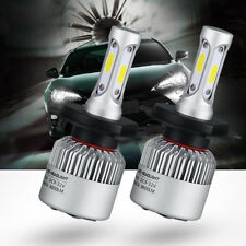 H4 COB LED Car Conversion Front Headlight Beam Bulb Auto Led 8000lm 6000K Kit