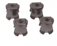 LEGO Ritter - 4 x Rüstung perl dunkelgrau / Pearl Dark Gray Armor / 2587 NEUWARE