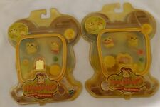 Hamtaro, figures little hamsters. Lot of 2. Hasbro.