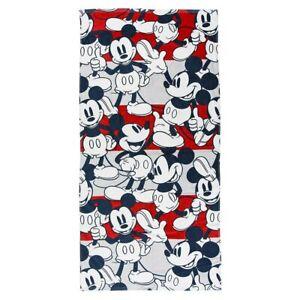 "Disney Mickey Mouse  Bath Beach Towel 67"" x 28""   -    70.0 X 140.0CM"