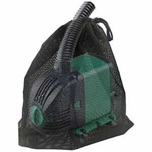 """JAPI Pump Barrier Bag Pond Filter Netting 14.5""""x 15"""" Black Media Large Mesh For"""