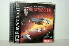 STAR TREK INVASION GIOCO USATO BUONO SONY PSX EDIZIONE USA NTSC/U DM1 43416