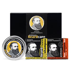 Professor Fuzzworthy's Beard SHAMPOO Beard Care Kit + Beer Shampoo 100% Natural