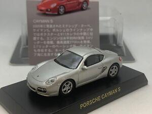 Porsche Cayman S  987C silver  Kyosho 1/64 scale Die-cast  part.3