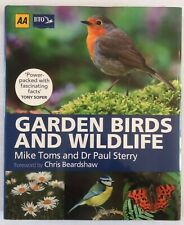 Garden Birds And Wildlife, (Large HARDBACK), Mike Toms & Dr Paul Sterry.