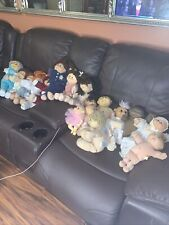 Vintage Cabbage Patch Kids Dolls Lot Of 18