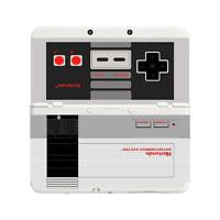 Custom Printed Nintendo Nes New Nintendo 3DS Faceplate Pair Cover Plates