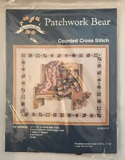 Seasons Of The Heart Counted Cross Stitch Kit Patchwork Bear Teddy 96-8825-00