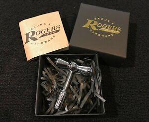 Rogers drums RABTKEY Bow Tie magnetic drum tuning key + display box nice gift