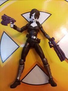Marvel Legends Domino Figure Deadpool X Men Avengers Figure.