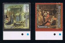 2013 Samoa Christmas Postage Stamp Set