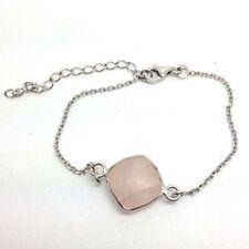 "Less than 7"" Chain Sterling Silver Fine Bracelets"
