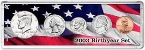 Birth Year Coin Gift Set, 2003
