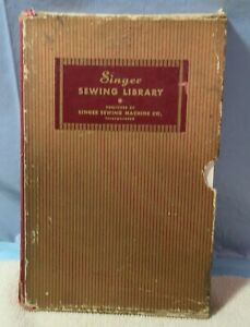 VTG Set of 3 Singer Sewing Library of instruction manuals Printed 1927-32