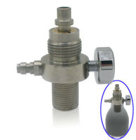 Airgun High Pressure Valve for Condor / SS PCP CO2 Airforce & 8 /9 mm Tophat