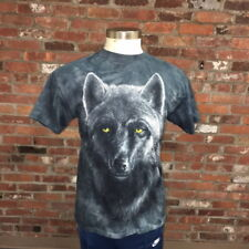 Wolf Print Nature Outdoors The Mountain T Shirt Mens Medium