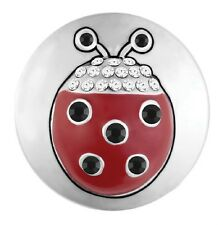 BUY 4, GET 5TH $6.95 SNAP FREE GINGER SNAP JEWELRY HEY LADY LADYBUG SN20-68