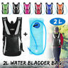 Hydration Pack Backpack Bag + Water Bladder Bag Sport For Hiking Cycling Running