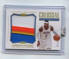 Carmelo Anthony 2017 National Treasures Colossal Materials Patch #/25