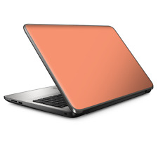 """Universal Laptop Skins wrap for 15"""" - Solid Peach"""