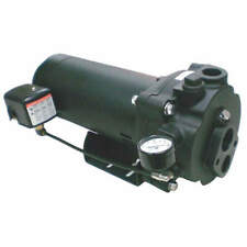 DAYTON 5UXK6 1-1/2 HP Convertible Jet Pump,140ft Lift