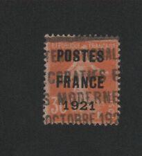 🔥🔥🔥🔥🔥 Timbre Préoblitéré N° 35 30 c semeuse poste France 1921 🔥🔥🔥🔥🔥🔥