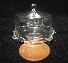 1; 12 Scala Di Vetro Supporto per Torta & COVER Cibo In Miniatura Casa Delle Bambole Accessorio f1
