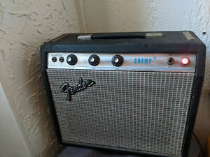 Fender  CHAMP - Vintage Original 1975 -