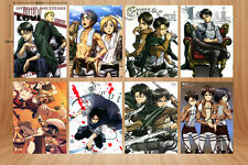 Wall Poster 8PCS/set Attack On Titan  A3 Posters Print