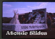 1963 Kodachrome photo slide Parade Saskatchewan Canada #6