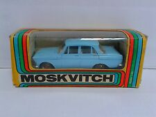 Tantal NOVOEXPORT CCCP USSR RARE A2 Moskvitch 412 OLD WHEELS 1/43 box? OVP?