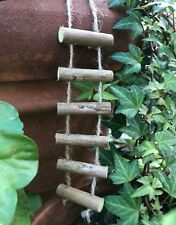 Miniature Dollhouse Fairy Garden Accessories ~ Mini Rope & Twig Ladder ~ New