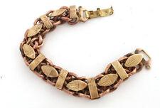 1950s Vintage Juliana D&E Solid Copper & Brass Chain Bracelet good for arthritis