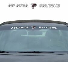 NFL Team ProMark Atlanta Falcons Windshield Window Decal Universal Size