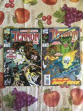 Terror Inc. #1 + #13 Marvel Comic Book Lot VF Cond