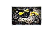 1978 yz400 Bike Motorcycle A4 Photo Poster
