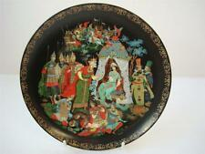 BRADEX TIANEX RUSSIAN LEGENDS & FAIRIES THE GOLDEN COCKEREL PLATE