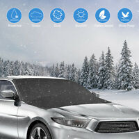 Magnetic Car Windshield Snow Sun Cover Ice Frost Guard Winter Protector SUV