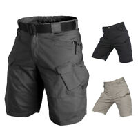Men's Tactical Military Shorts Cotton Outdoor Hiking Camping Camo Short Pants AU