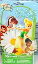 Disney Fairies TinkerBell 3D Impulse Pack 50 Temporary Tattoos /Party Favors NEW