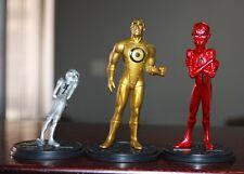 DC DIRECT Metal Men3 Piece figures Tin Gold Mercury Comics 2001 free shipping