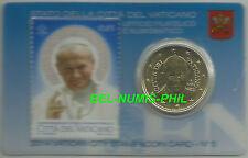 VATICAAN 2014  nummer 5 - 50 cent coincard met postzegel - 5 - BU-kwaliteit!!!