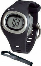 NEW Nike SM0013-001 Triax C3 Chronograph Heart Rate Monitor w/Chest Strap Watch