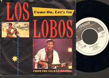 "LOS LOBOS 7"" Inch SINGLE Come On Let's Go Ooh My Head 1987 FILM La BAMBA"