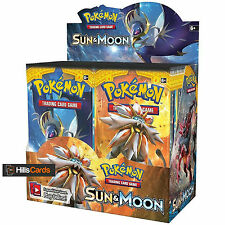 Pokemon Cards: Sun & Moon Sealed Booster Box - 36 Packs - Solgaleo and Lunala