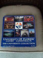 Rare Florida Gators university collection UF 500 piece jigsaw puzzel