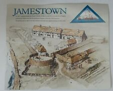 2006 Us Jamestown Settlement - Sheet of 20 - 41 cent - Triangle Stamps - #4136