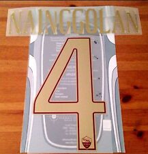2016-17 Roma ROME DERBY Home Shirt NAINGGOLAN#4 OFFICIAL StilScreen Name Number