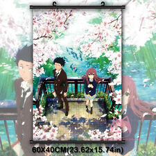 Koe no Katachi A silent voice Japanese Anime Movie Wall Scroll Poster Decor Gift