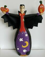 """Midwest of Cannon Falls Halloween 11"""" Wooden Dracula"""